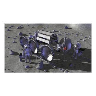 Futures missions 13 d'exploration d'espace impression photographique