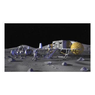 Futures missions 3 d'exploration d'espace photographies