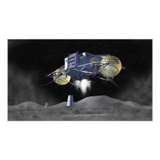 Futures missions 7 d'exploration d'espace impression photographique