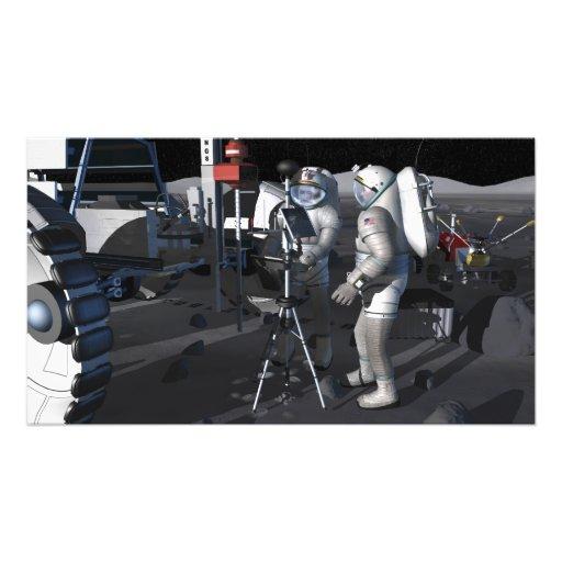 Futures missions 8 d'exploration d'espace photos d'art