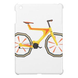 Futurictic Design Yellow Bicycle. Cool Colorful iPad Mini Case