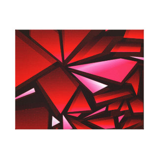 Futuristic Abstract Art Canvas Print