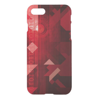 Futuristic Abstract as a Robotic Concept Art iPhone 7 Case