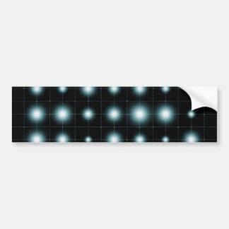 Futuristic Abstract Background Car Bumper Sticker