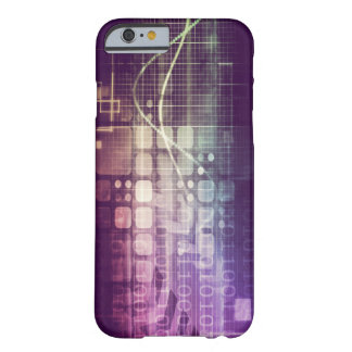 Futuristic Abstract Concept on Technology Barely There iPhone 6 Case