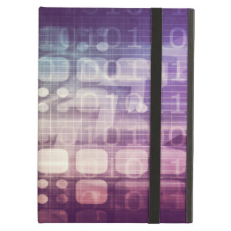 Futuristic Abstract Concept on Technology Cover For iPad Air