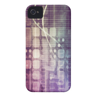 Futuristic Abstract Concept on Technology iPhone 4 Case-Mate Case