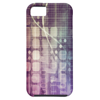 Futuristic Abstract Concept on Technology iPhone 5 Case