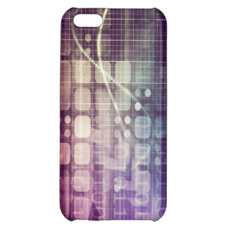 Futuristic Abstract Concept on Technology iPhone 5C Cases