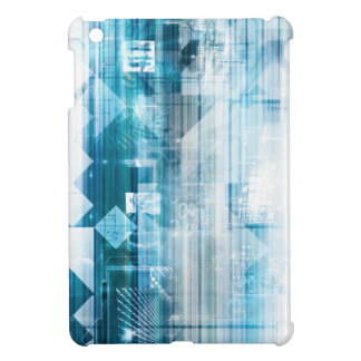 Futuristic Background with Technology Abstract Case For The iPad Mini