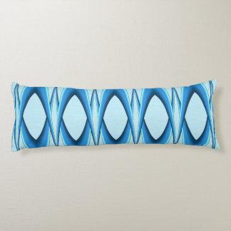 Futuristic Blue Arch Body Pillow