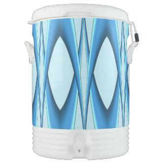 Futuristic Blue Arch Drinks Cooler