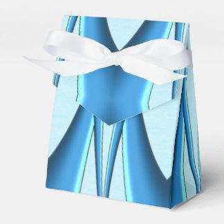 Futuristic Blue Arch Favor Box