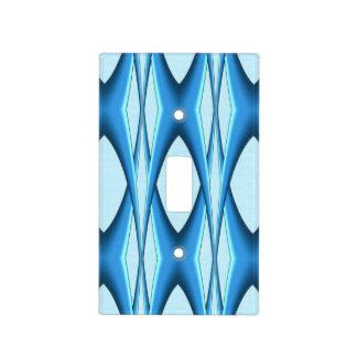 Futuristic Blue Arch Light Switch Cover