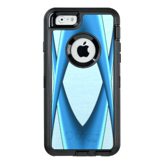 Futuristic Blue Arch OtterBox Defender iPhone Case
