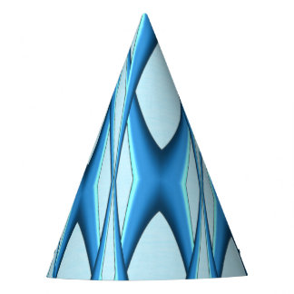 Futuristic Blue Arch Party Hat
