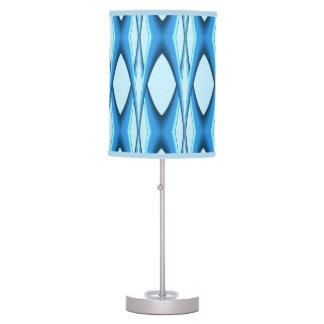Futuristic Blue Arch Table Lamp
