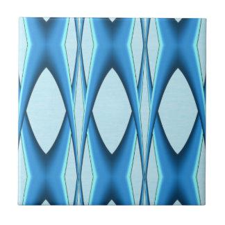 Futuristic Blue Arch Tile
