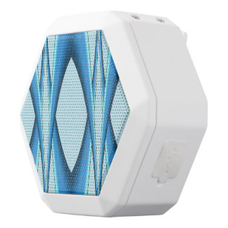 Futuristic Blue Arch White Bluetooth Speaker