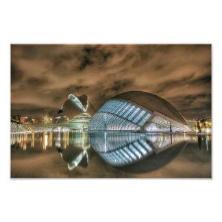 Futuristic buildings in Valencia, Spain Photo Print