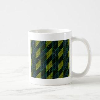 Futuristic Dark Pattern Coffee Mug