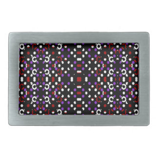 Futuristic Geometric Pattern Belt Buckle