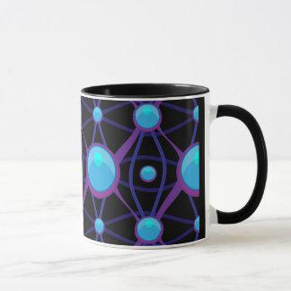 Futuristic High Tech Pattern Mug