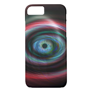 Futuristic light trails eye iPhone 7 case