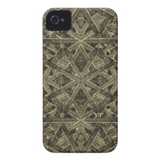 Futuristic Polygonal iPhone 4 Case-Mate Cases