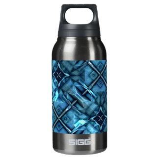 Futuristic Sci-Fi Armour 1 Insulated Water Bottle