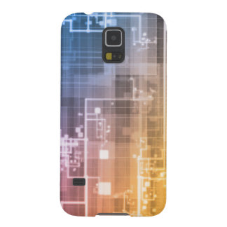Futuristic Technology as a Next Generation Art Galaxy S5 Cover