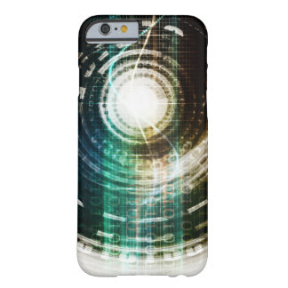 Futuristic Technology Portal with Digital Barely There iPhone 6 Case