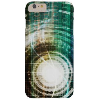 Futuristic Technology Portal with Digital Barely There iPhone 6 Plus Case