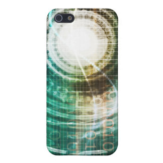 Futuristic Technology Portal with Digital Case For iPhone 5/5S