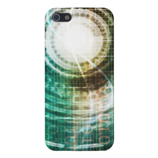 Futuristic Technology Portal with Digital iPhone 5/5S Case