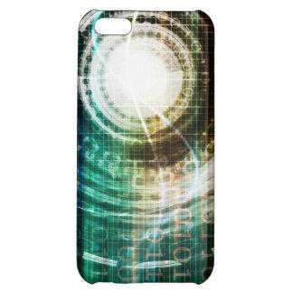 Futuristic Technology Portal with Digital iPhone 5C Case