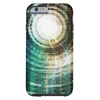 Futuristic Technology Portal with Digital Tough iPhone 6 Case