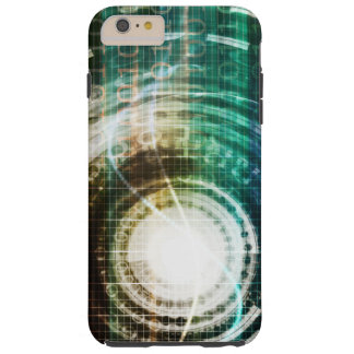 Futuristic Technology Portal with Digital Tough iPhone 6 Plus Case
