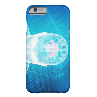 Futuristic Technology with Human Brain Chip Soluti Barely There iPhone 6 Case