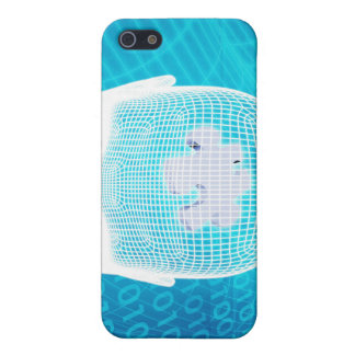 Futuristic Technology with Human Brain Chip Soluti Case For iPhone 5/5S