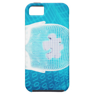 Futuristic Technology with Human Brain Chip Soluti Case For The iPhone 5