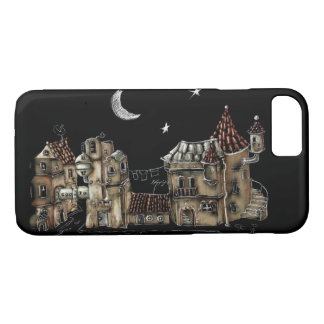 Futuristic urban Architecture iPhone 8/7 Case
