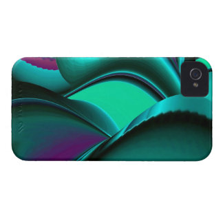 Futuristically abstract iPhone 4 cases