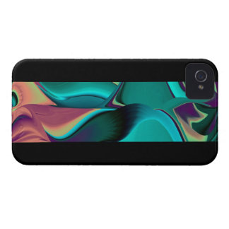 Futuristically abstract iPhone 4 covers