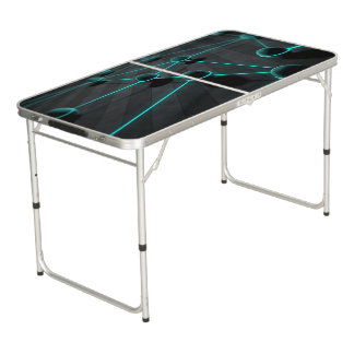 Futurstic Beer Pong Table