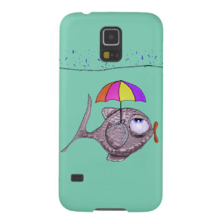 Fuuny Fish Samsung Galaxy S5, Barely There Galaxy S5 Cover