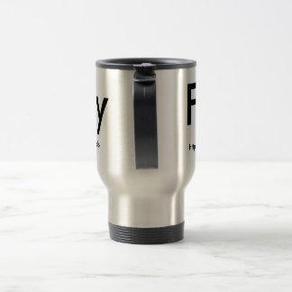 Fuzy boy cup