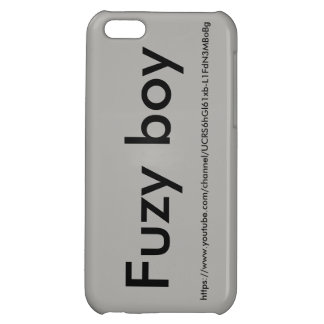 Fuzy boy phone case iPhone 5C cases