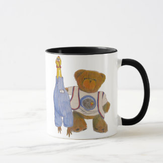 Fuzz and Camilla Pencil Sketch Mug