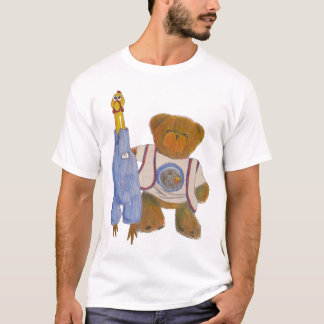 Fuzz and Camilla Pencil Sketch T-Shirt